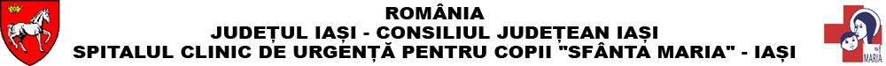 """Spitalul Clinic de Urgență pentru Copii """"Sfânta Maria"""" - Iași"""